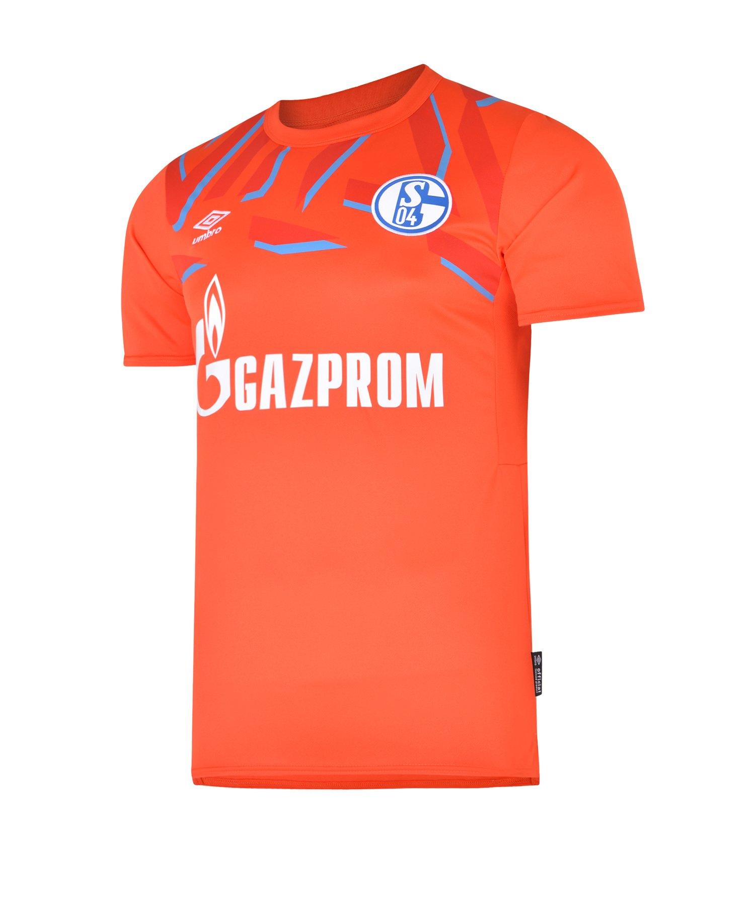 detailed look 8c092 5665a Umbro FC Schalke 04 Torwarttrikot Home Kids 2019/2020 Orange