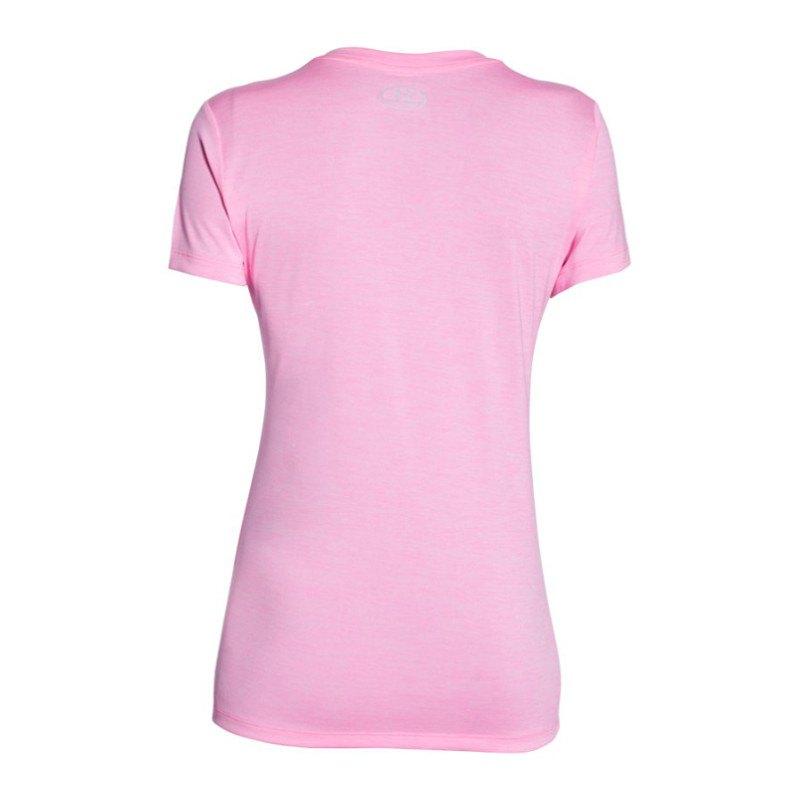 under armour tech ssv shirt damen kurzarm sportbekleidung frauen rosa. Black Bedroom Furniture Sets. Home Design Ideas