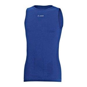 Jako Tank Top Skinbalance Blau F04 - blau