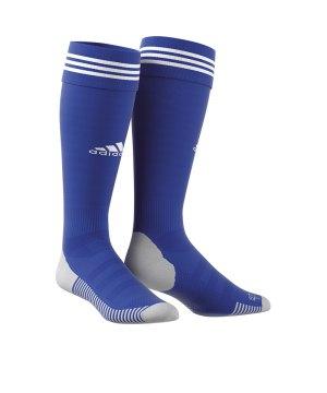 buy popular c1f62 b6575 adidas-adisock-18-stutzenstrumpf-blau-weiss-fussball-teamsport-