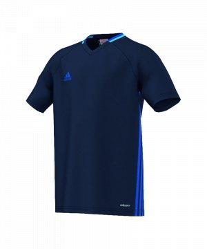 adidas-condivo-16-trainingsshirt-kids-kinder-children-oberteil-kurzarm-verein-sportbekleidung-dunkelblau-s93541.jpg