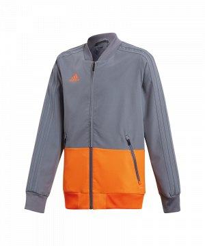 adidas-condivo-18-praesentationsjacke-kids-grau-fussball-teamsport-football-soccer-verein-cf3706.jpg