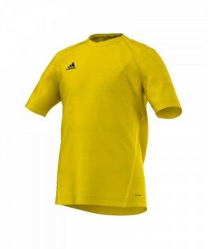 adidas-core-15-trainingsshirt-t-shirt-kurzarmshirt-trainingsjersey-kids-kinder-children-gelb-schwarz-s22403.jpg