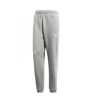 7ff40e3d02fe8c adidas-originals-3-stripes-pants-grau-lifestyle-freizeit-