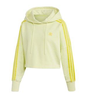 gelber adidas hoodie damen