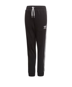19e5d2c7b782cd adidas-originals-trefoil-jogginghose-kids-kinder-schwarz-lifestyle-