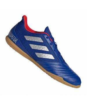 finest selection bf4bc 26c37 adidas-predator-19-4-in-sala-blau-silber-