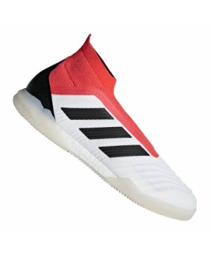 low priced 37ba7 60796 adidas-predator-tango-18-in-halle-weiss-rot-