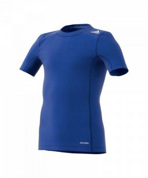 adidas-tech-fit-base-tee-kurzarmshirt-unterwaesche-funktionswaesche-kids-kinder-blau-ak2822.jpg