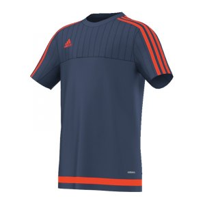 adidas-tiro-15-trainingsshirt-kurzarmshirt-funktionsshirt-teamwear-training-kids-children-kinder-blau-rot-s27110.jpg