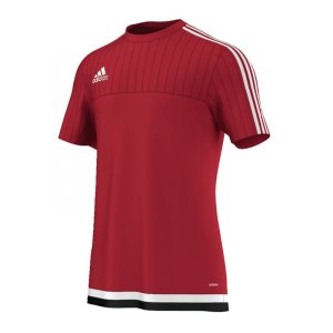 adidas-tiro-15-trainingsshirt-kurzarmshirt-funktionsshirt-teamwear-training-kids-children-kinder-rot-weiss-m64063.jpg