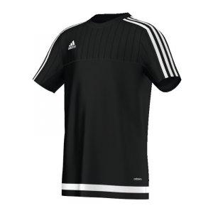 adidas-tiro-15-trainingsshirt-kurzarmshirt-funktionsshirt-teamwear-training-kids-children-kinder-schwarz-weiss-s22313.jpg