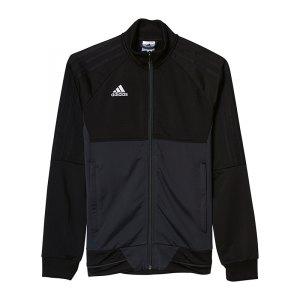 adidas-tiro-17-trainingsjacke-kids-fussball-teamsport-ausstattung-mannschaft-schwarz-grau-ay2876.jpg