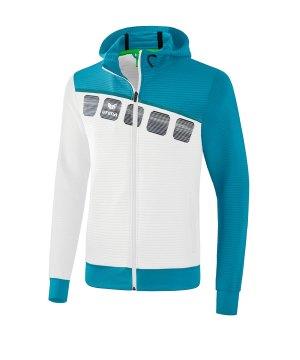erima-5-c-trainingsjacke-mit-kapuze-weiss-blau-fussball-teamsport-textil-jacken-1031909.jpg