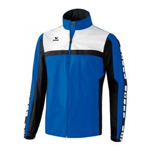 erima-5-cubes-regenjacke-kids-kinder-children-jacket-wasserabweisend-trainingskleidung-teamwear-blau-schwarz-105514.jpg
