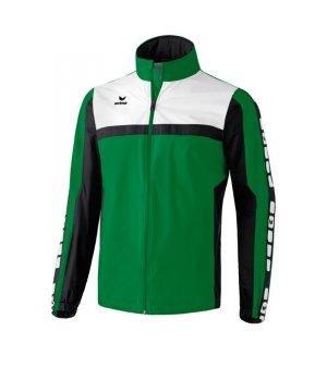 erima-5-cubes-regenjacke-kids-kinder-children-jacket-wasserabweisend-trainingskleidung-teamwear-gruen-schwarz-105515.jpg