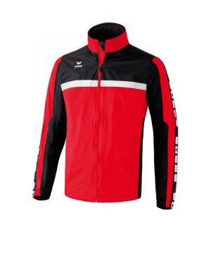 erima-5-cubes-regenjacke-kids-kinder-children-jacket-wasserabweisend-trainingskleidung-teamwear-rot-schwarz-105512.jpg