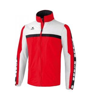 erima-5-cubes-regenjacke-kids-kinder-children-jacket-wasserabweisend-trainingskleidung-teamwear-rot-weiss-105518.jpg