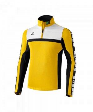 erima-5-cubes-trainingstop-mit-zip-funktionsshirt-mit-1-4-reissverschluss-trainingssweatshirt-teamwear-kids-kinder-gelb-107543.jpg