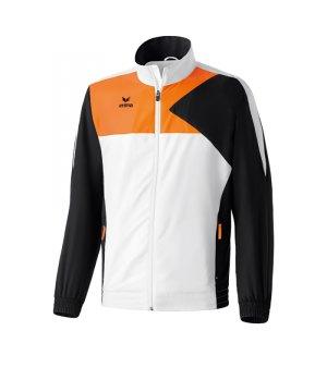 erima-premium-one-praesentationsjacke-weiss-schwarz-orange-ausgehoberteil-101436.jpg