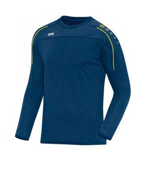 jako-classico-sweatshirt-blau-gelb-f42-trainingswear-sweater-trainingsshirt-teamausstattung-8850.jpg