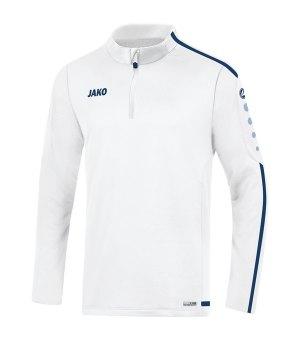 jako-striker-2-0-ziptop-kids-weiss-blau-f90-fussball-teamsport-textil-sweatshirts-8619.jpg