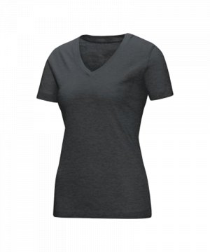 jako-v-neck-t-shirt-damen-grau-f41-v-ausschnitt-kurzarmtop-sportbekleidung-textilien-frauen-women-6113.jpg