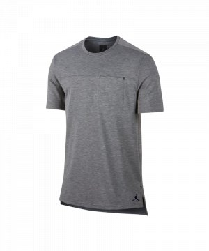 jordan-23-lux-classic-pocket-t-shirt-grau-f091-funktionsshirt-herren-maenner-lifestyle-training-marke-top-kurzarm-mesh-materialmix-843082.jpg