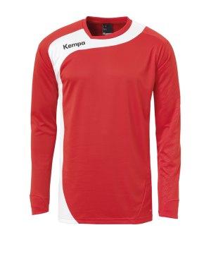 Kempa Curve Training Sweatshirt Blau Weiss F06