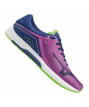 Mizuno Synchro MD Running Damen Blau F03
