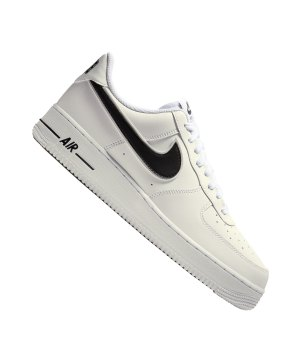 brand new 31fdc 876af nike-air-force-1-07-sneaker-weiss-schwarz-