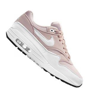 low priced f3710 a520c nike-air-max-1-sneaker-damen-weiss-rosa-