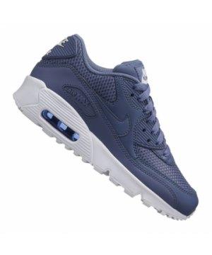 size 40 60b1a 75cac nike-air-max-90-mesh-sneaker-kids-blau-