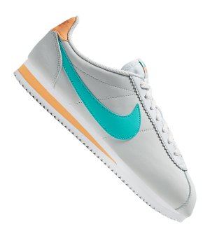 sports shoes f853e 10016 nike-classic-cortez-leather-sneaker-grau-f019-lifestyle-