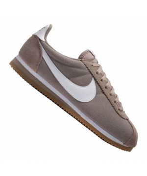 check out 502cc a9f34 nike-classic-cortez-nylon-sneaker-braun-weiss-f202-