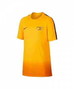Nike Dry Neymar Top T Shirt Kids Orange F852 | Kurzarm