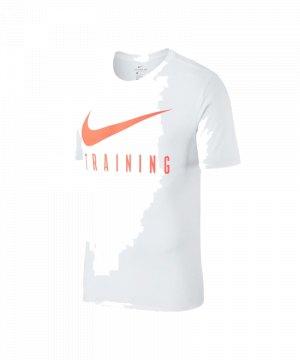 weißes nike t-shirt damen