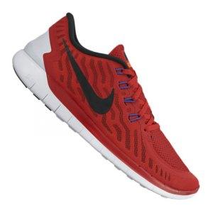 Nike Free Rot Schwarz