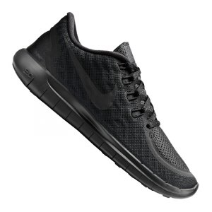 Nike Free Run Schwarz Damen