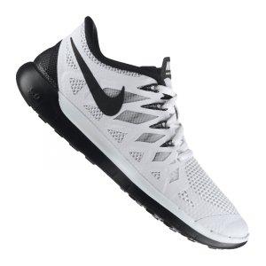 Nike Free 5.0 Herren Weiß Schwarz