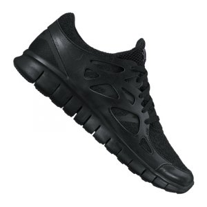 Nike Free Run 2 Damen Schwarz Weiß