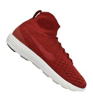 Nike Flyknit Rot