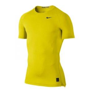 nike-pro-compression-shortsleeve-shirt-gelb-f358-underwear-funktionswaesche-unterziehtop-kurzarmshirt-men-herren-703094.jpg