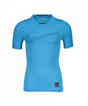 nike-pro-compression-t-shirt-kids-blau-f474-underwear-kinder-children-tee-858233.jpg