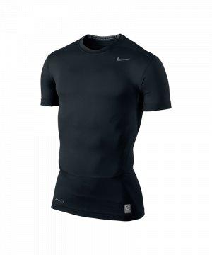 nike-pro-core-shortsleeve-shirt-tight-2-schwarz-f010-funktionsshirt-kurzarm-449792.jpg