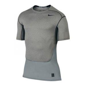 nike-pro-hypercool-compression-crew-kurzarmshirt-underwear-sport-fussball-unterziehshirt-textilien-f091-grau-801235.jpg