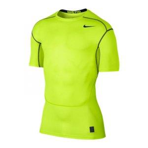 nike-pro-hypercool-compression-crew-kurzarmshirt-underwear-sport-fussball-unterziehshirt-textilien-f702-gelb-801235.jpg