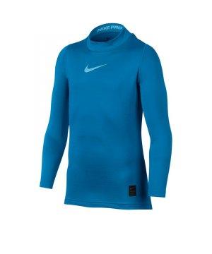 nike-pro-warm-mock-kids-blau-f435-funktionskleidung-unterwaesche-unterhemd-langarm-shirt-856134.jpg