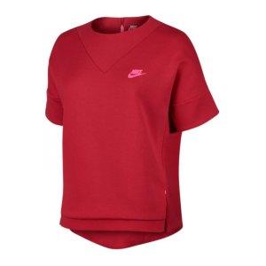 nike-tech-fleece-crew-t-shirt-lifestyle-bekleidung-freizeit-textilien-damen-women-f657-rot-803581.jpg