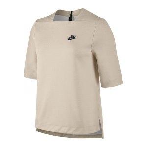 nike-tech-fleece-shortsleeve-top-damen-beige-f140-lifestyle-oberbekleidung-top-funktionsmaterial-kurzarm-weit-passform-bequem-frauen-oberteil-top-marke-833450.jpg